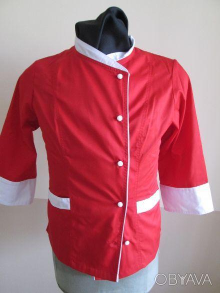 Китель поварской, одежда поварская, униформа для поваров,мужская,женская
