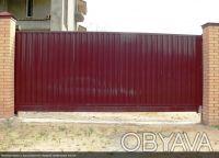 Ворота откатные, распашные, раздвижные, гаражные, промышленные, секционные,забор. Киев. фото 1