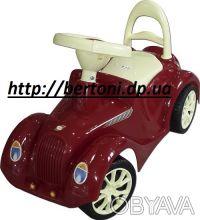 наш сайт http://bertoni.dp.ua Детская машина каталка Ретро это  настоящая машин. Днепр, Днепропетровская область. фото 5