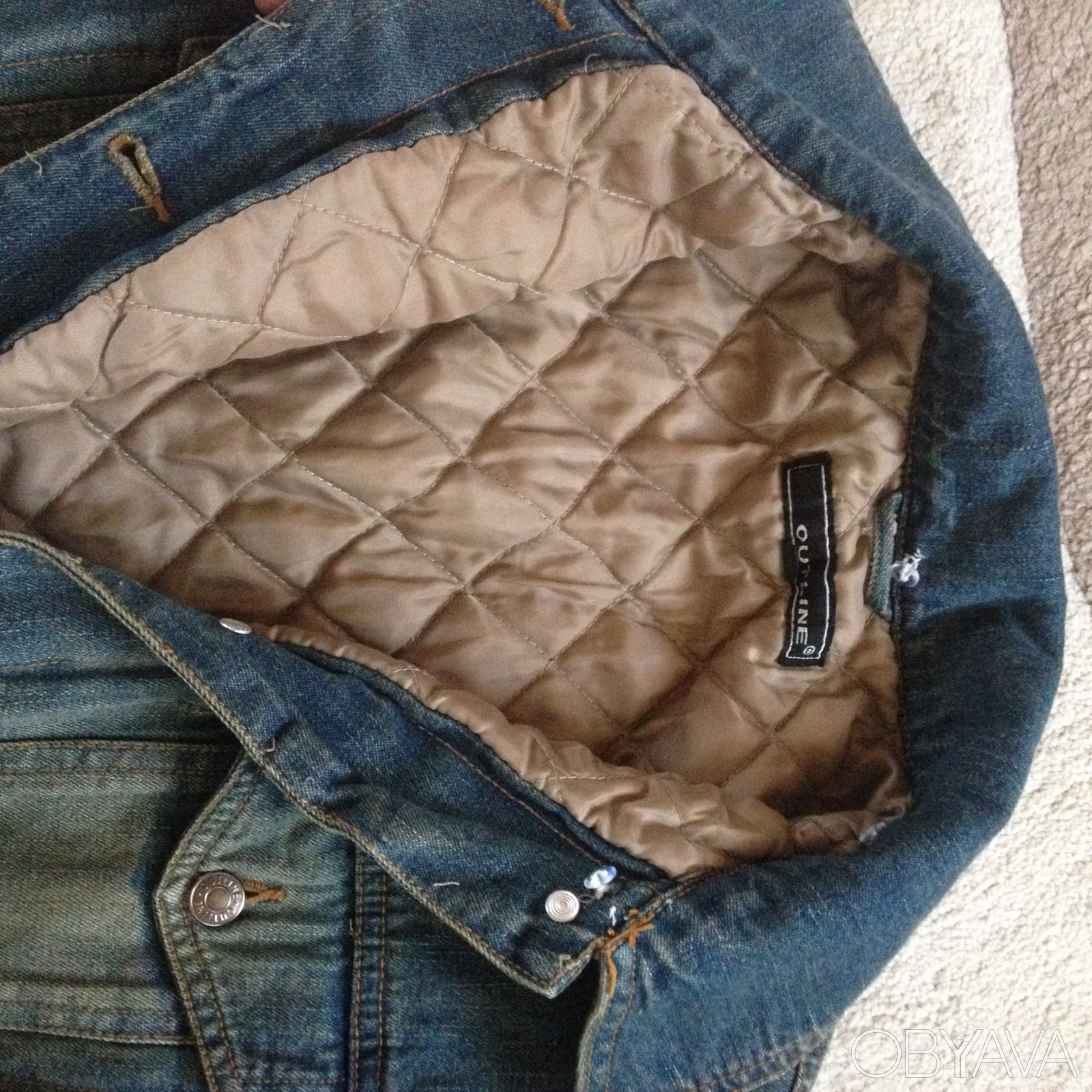 Как утеплить джинсовую куртку своими руками