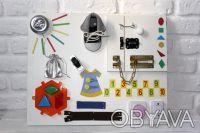 БизиБорд , развивающая доска для детей. Харьков. фото 1
