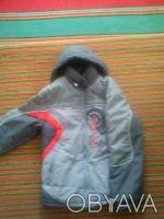 Курточка (зимняя) на мальчика лет на 9-12. Состояние хорошее. длина рукава-56см,. Дніпро, Дніпропетровська область. фото 2