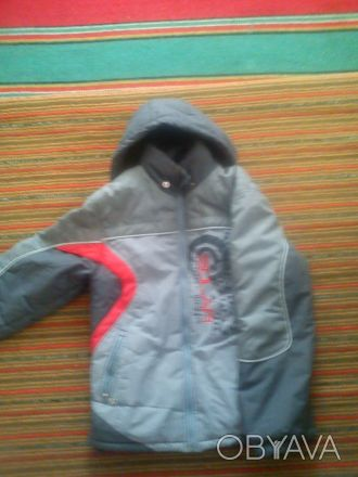 Курточка (зимняя) на мальчика лет на 9-12. Состояние хорошее. длина рукава-56см,. Дніпро, Дніпропетровська область. фото 1