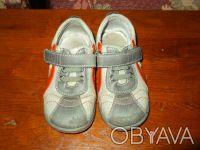 Продам туфли (кроссовки) на мальчика. Верх - кожзам, внутри кожа. Размер 25, по . Чернигов, Черниговская область. фото 6