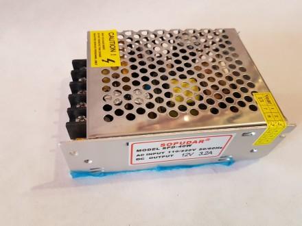 Описание: Блок питания 12V 3.2А Блок питания 12V 3.2А предназначен для подключен. Одесса, Одесская область. фото 6