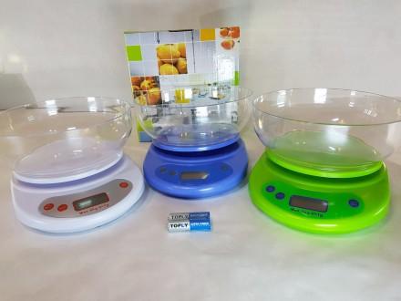 Весы кухонные электронные с чашкой. Одесса. фото 1