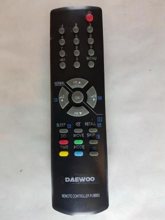 Пульт ду для телевизора Daewoo R-28B03  (не оригинал) . Одесса. фото 1