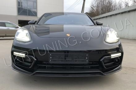Губа Porsche Panamera 971 2017 2018 2019. Киев. фото 1