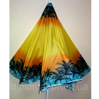 Зонт пляжный с наклоном пальма 2м. диаметр. Одесса. фото 1