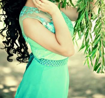 Продам очень красивое платье цвет бирюза. Белгород-Днестровский. фото 1