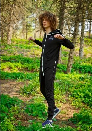 Стильный спортивный костюм. Комбинезон для фитнеса ,танцев и йоги. Z.Gura. Киев. фото 1