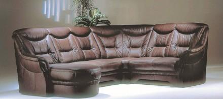 Кожанный угловой диван Фатима. Киев. фото 1