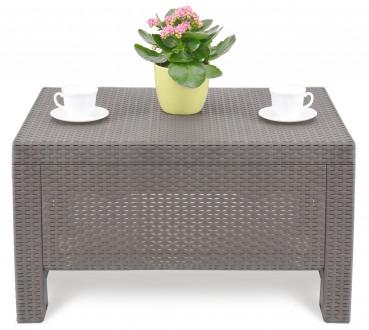 """"""" Садовый cтол Corfu Сoffee Rattan Style Table Allibert, Keter, Curver """"  Комф. Ужгород, Закарпатская область. фото 3"""