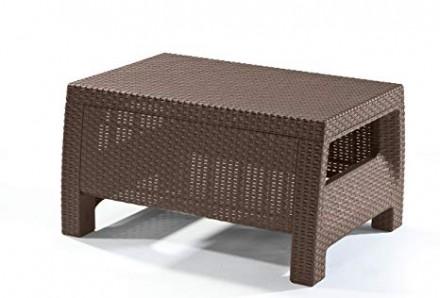 """"""" Садовый cтол Corfu Сoffee Rattan Style Table Allibert, Keter, Curver """"  Комф. Ужгород, Закарпатская область. фото 7"""