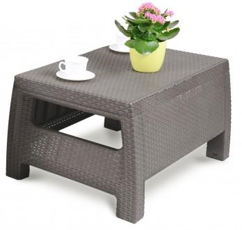 """"""" Садовый cтол Corfu Сoffee Rattan Style Table Allibert, Keter, Curver """"  Комф. Ужгород, Закарпатская область. фото 4"""