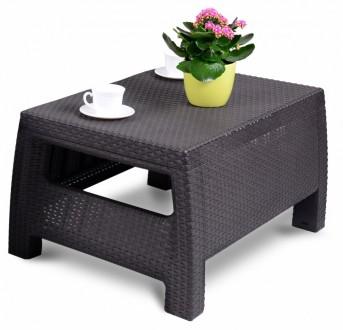 """"""" Садовый cтол Corfu Сoffee Rattan Style Table Allibert, Keter, Curver """"  Комф. Ужгород, Закарпатская область. фото 5"""