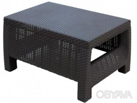 """"""" Садовый cтол Corfu Сoffee Rattan Style Table Allibert, Keter, Curver """"  Комф. Ужгород, Закарпатская область. фото 1"""