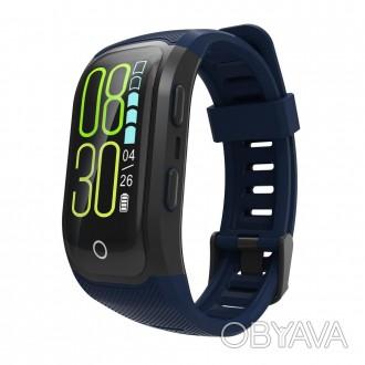 Фитнес-браслет Mavens G03 plus имеет цветной 0,96 дюймовый LCD-дисплей с сенсорн. Киев, Киевская область. фото 1