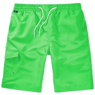 Плавательные шорты Brandit Swimshorts LIME 2XL/3XL Зеленый (9153.54-2XL/3XL). Киев. фото 1