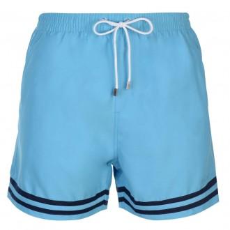 Пляжные шорты Pierre Cardin Stripe Swim Shorts Mens M Бирюзовые (35220819390). Киев. фото 1