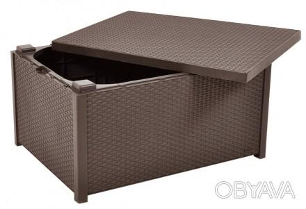 """"""" Садовый стол Corfu Box Storage Table Allibert, Keter, Curver """"  Комфорт и уд. Ужгород, Закарпатская область. фото 1"""