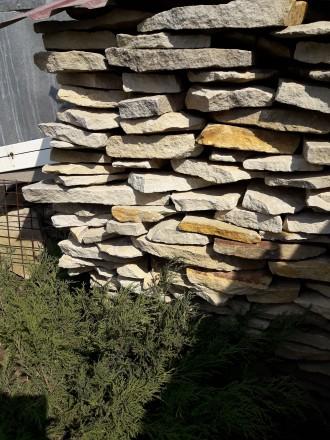 Песчаник Ямпольский ., один метр куб., самовывоз из ст.города. Покупался для себ. Винница, Винницкая область. фото 3
