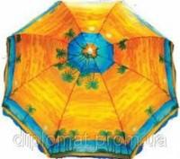 Зонт пляжный с наклоном пальма 1.8 м. диаметр. Одесса. фото 1
