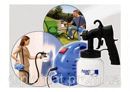 Краскораспылитель Paint Zoom (Пейнт Зум) Что же такое краскораспылитель Paint Zo. Одесса, Одесская область. фото 4