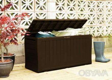 """"""" Сундук, ящик для хранения Keter Marvel Plus Storage Box 270L """"  Идеальный сп. Ужгород, Закарпатская область. фото 1"""