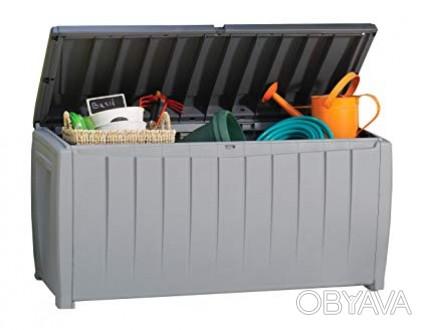 """"""" Сундук, ящик для хранения Keter Novel Storage Box 340L """"  Идеальный способ о. Ужгород, Закарпатская область. фото 1"""