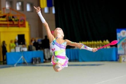 Булавы гимнастические розовые Тайвань L=42см. Одесса. фото 1