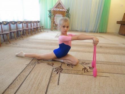 Булавы гимнастические розовые Тайвань L=35см. Одесса. фото 1