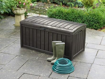 """"""" Сундук, ящик для хранения Keter Glenwood Storage Box 390L """"  Идеальный спосо. Ужгород, Закарпатская область. фото 13"""