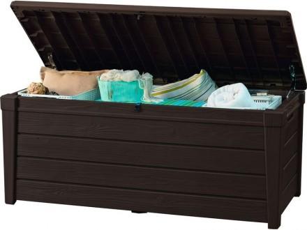 """"""" Сундук, ящик для хранения Keter Brightwood Storage Box 454L """"  Идеальный спо. Ужгород, Закарпатская область. фото 13"""