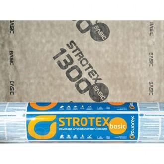 Cупердиффузионная мембрана Strotex Basic. Киев. фото 1
