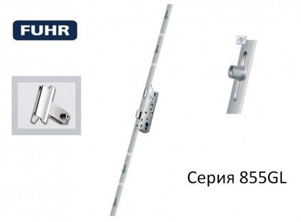 Замок реечный Fuhr 855GL 28/92/2170 с защёлкой.. Киев. фото 1