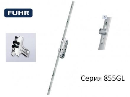Замок реечный Fuhr 855GL 35/2170 с роликом.. Киев. фото 1