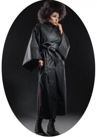 1 Из 20 Плащ - кимоно капсульная коллекция ТРИКОТАЖ унисекс. Одесса. фото 1
