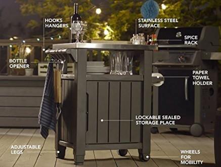 """"""" Стол для гриля, барбекю Keter Unity 105L Storage Buffet """"  Идеальный способ . Ужгород, Закарпатская область. фото 4"""