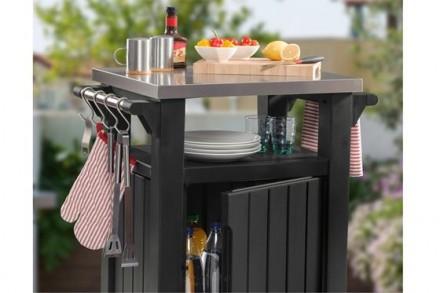 """"""" Стол для гриля, барбекю Keter Unity 105L Storage Buffet """"  Идеальный способ . Ужгород, Закарпатская область. фото 10"""