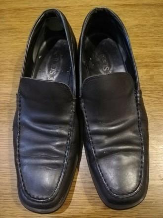 Чоловічі шкіряні туфлі 45розміру. Заставна. фото 1