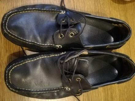 Чоловічі шкіряні черевики 45розміру. Заставна. фото 1