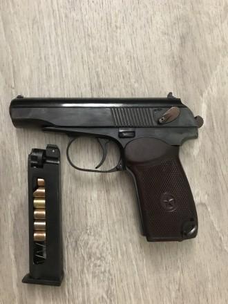Пистолет под патрон Флобера Пмф-1 2014 г.в. Тюнингованный! Новый. Одесса. фото 1