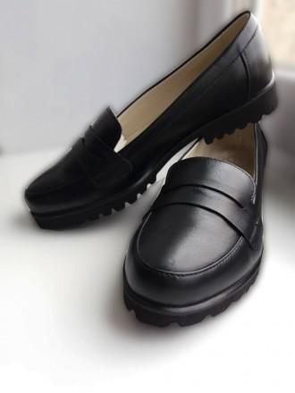 Шкіряні туфлі, лофери/лоферы. Ивано-Франковск. фото 1
