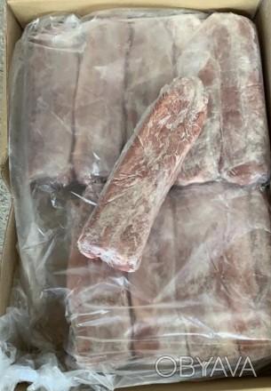 Замороженная свинина в ассортименте: окорок, лопатка, вырезка, шея. Мясокомбинат. Одесса, Одесская область. фото 1