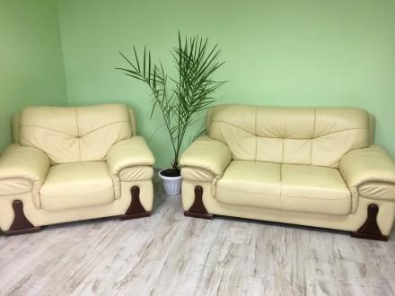 Шикарная офисная мебель, идеальное состояние, Размеры Диван Длина 168 см, ширина. Львов, Львовская область. фото 2