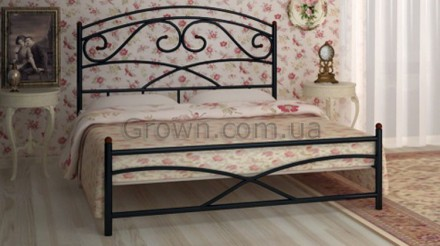 кровать металлическая Лейла Магазин Гроун. Киев. фото 1