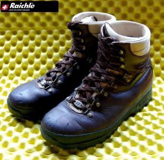 Мужские ботинки для тяжёлого треккинга Raichle® Hiking Boots. Ровно. фото 1