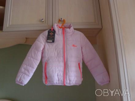 Продам новую демисезонную курточку для девочки. Мягенькая, очень легкая. Не буд. Київ, Київська область. фото 1