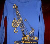1)синяя футболка с рисунком,новая но без бирок,CARTER'S  ,цена-155 гр. замеры: . Киев, Киевская область. фото 2